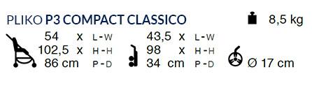 Pliko P3 Compact Classico